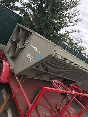10 Ton Trane Package Unit Model Byc, With Trailer And Disconnect Attached