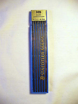 Vintage Staedtler Mars Lumograph HB No1904 Leads -New - Technico -Drafting