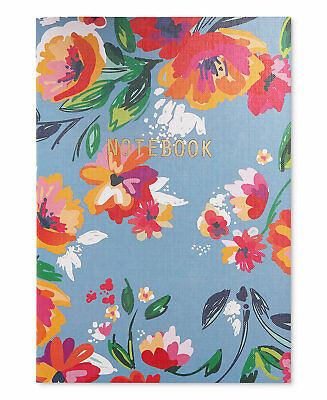 NIP Macy's Small Notebook Journal Floral Pattern - NEW IN PACKAGE
