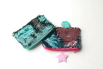 Mermaid Reversible Sequin Purse - Gift - buy 3 get 1 FREE includes P&P