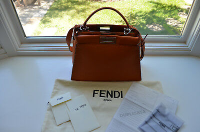 aeecfedc77994e Fendi Selleria Medium Peekaboo Bag *** mint condition *** (with receipt