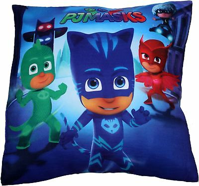 Pj Masks Catboy Owlette and Gekko Family Square Shaped Pillow Cushion 35CM