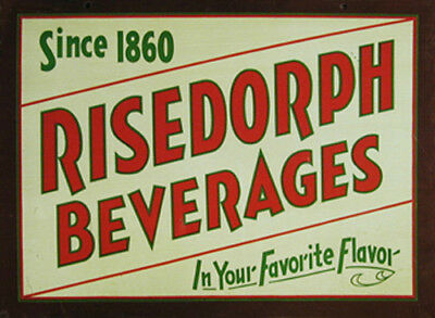 Risedorph Beverage Metal Sign