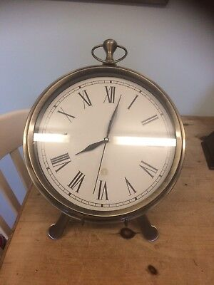 Vintage Oversized Stop Watch Mantle Or Wall Clock