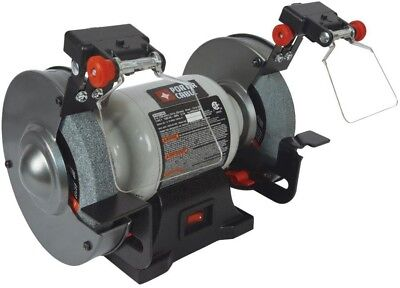 PORTER-CABLE 6-in Bench Grinder With Built-in Light ,Variable Speed PORTER CABLE