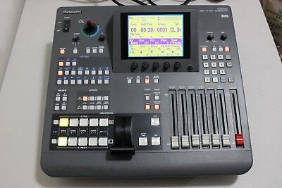 Panasonic AG-MX70 Digital AV Mixer MX70P Professional video switcher with cord