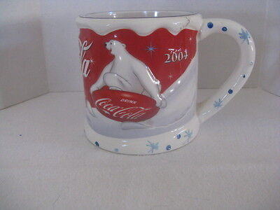 "Coca-Cola ""2004"" Sculpted Mug ~ **Gift Idea"
