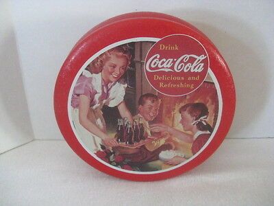 Coca-Cola Round Tin ~ **Gift Idea