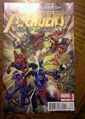 The avengers age of ultron (free comic book day) comic