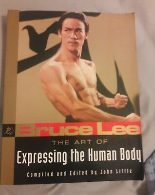 The Art of Expressing the Human Body by Bruce Lee (English) Paperback Book