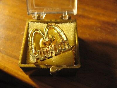 McDonald's Restaurant Vintage Collectable HAWAII Tie Tac Pin Golden Arches HTF