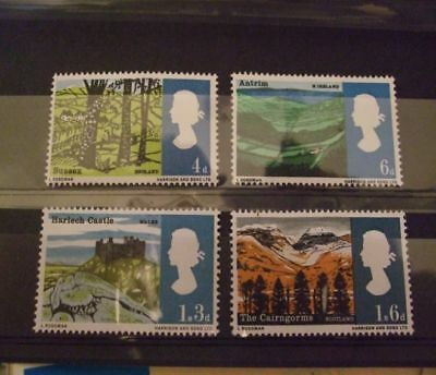 1966 - Gb Stamps -Landscapes -- Mnh