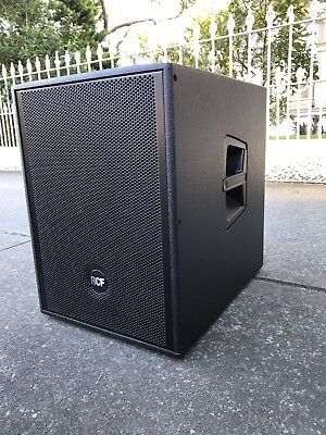 """RCF 905-as Subwoofer 15"""" 1000watts W/TLC cover"""