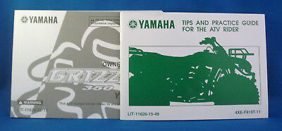 2009 YAMAHA ATV GRIZZLY 350 YFM35FGY OWNER'S MANUAL + Tips/Guide for ATV rider