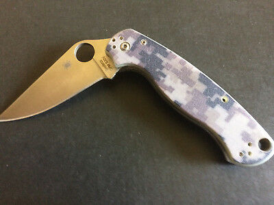 Folding Tactical Pocket Knife Camfluage ,Original Edge.Easy One Hand Open.
