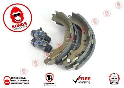 Rear Brake Shoes + Wheel Cylinders Pack Holden Hq Hj Hx Hz 1971-85