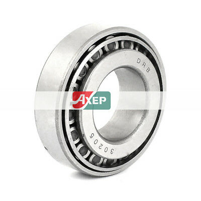 30205 Carbon Steel Sealed Tapered Roller Wheel Bearing 52 x 25 x17mm Silver Tone