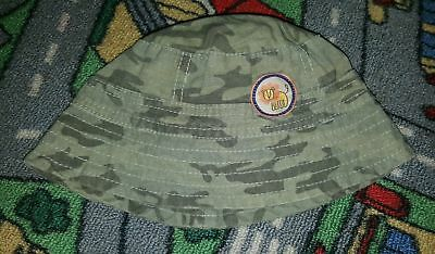 BABY BOYS Sz 000 - 00 Green TARGET Camouflage Hat CUTE! COOL! LION!