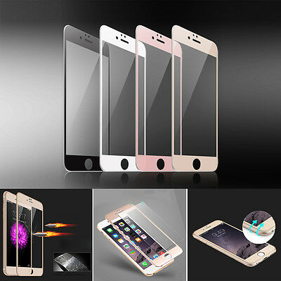 iPhone XS MAX XR 8 /7 6s 6+ Full Tempered Glass Screen Protector Cover 3D Curved