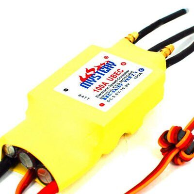 Mystery RC 100A ESC Forward Backward Brushless 5V/3A W/Water Cooling F Boat