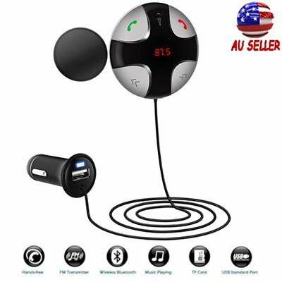 Handsfree Wireless Bluetooth FM Transmitter Car Kit Mp3 Player AUX USB Charger K