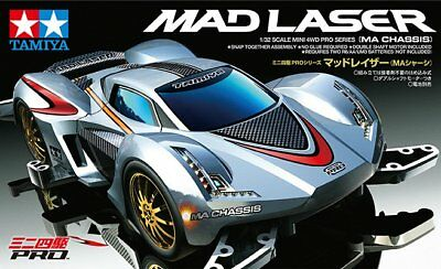 Tamiya 18648 1/32 Mini 4WD JR Mad Laser - MA Chassis Kit