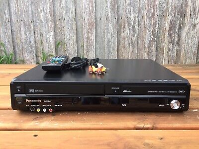 Serviced Panasonic DMR-EZ48 Combo VCR + DVD Recorder Video Player Copy DUB VHS