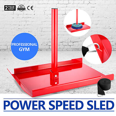 Speed Power Sled Fitness CROSS-TRAINING STRENGTH  RUGBY GYM EQUIPMENT