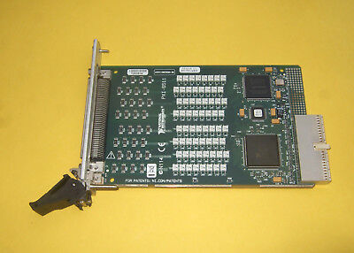 # National Instruments NI PXI-6511 # Digital-I/O-Modul, 64 Channels Sink/Source