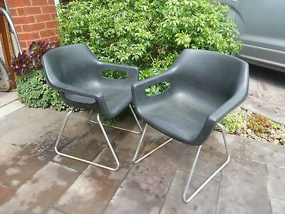 Pair of Sebel Hobnob chairs, retro, 70s