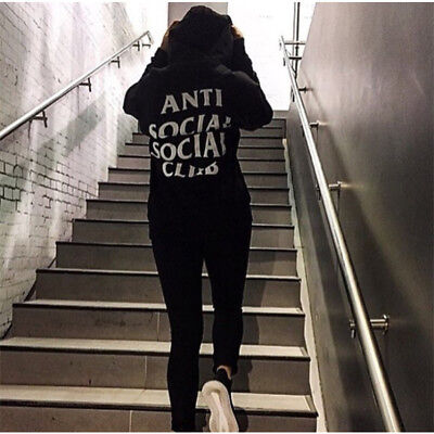 Mens Anti Social Social Club Hoodie Kanye Sweatshirts AntiSocial Social Club Top