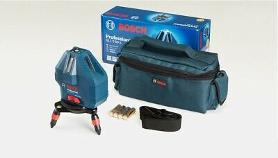 Bosch GLL5-50X Professional 5-Line Self-Level Line Laser