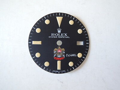 Watch Dial Restoration Refinishing Service For Custom GMT MAster UAE Dial