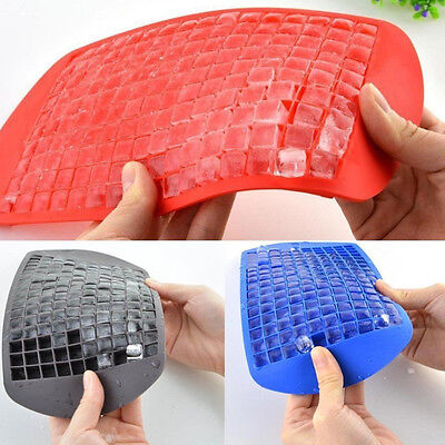 160 Ice Cube Silicone Freeze Mold Bar Pudding Jelly Chocolate Ice Maker Tool