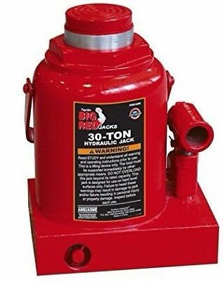 Torin T93007 Big Red Hydraulic Bottle Jack, 30 Ton Capacity Steel Frame