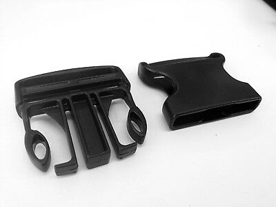 50mm plastic side release buckles, ITW FASTEX webbing quick release clips