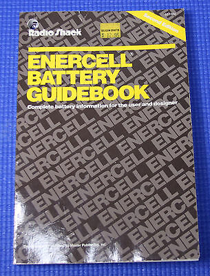 Radio Shack Enercell Battery Guidebook (Second Edition 62-1304)