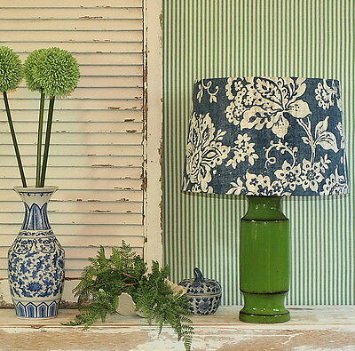 Aus Made Lampshade Blue/White/Grey 2 Sizes 2 Fittings Made to Order 1-2 weeks