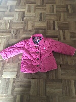 Girls Joules Coat 6/9 Months