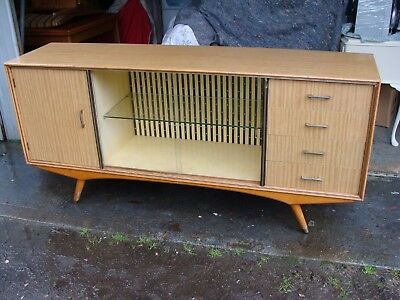 Retro Vintage Buffet Cabinet, 1.8M Wide, Can Deliver