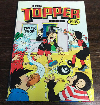 The Topper Book 1985 Collectable Vintage D C Thomson VGC