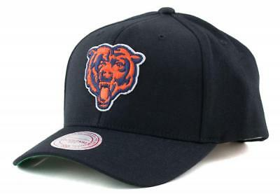 Chicago Bears NFL Hat Mitchell & Ness Baseball Cap Navy Mitchell And Ness