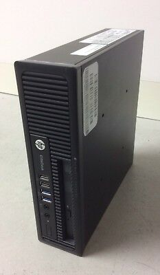 HP Elite Desktop 800 G1 USDT 4C 2.9GHz i5-4570S 4GB Win 7 Pro