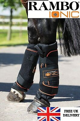SALE Horseware Rambo Ionic Circulation Blood Flow Support Stable Boots