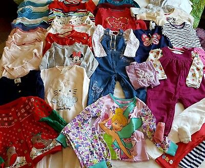 Girls 18-24 Months autumn/winter clothing bundle in good condition ( 35 items)