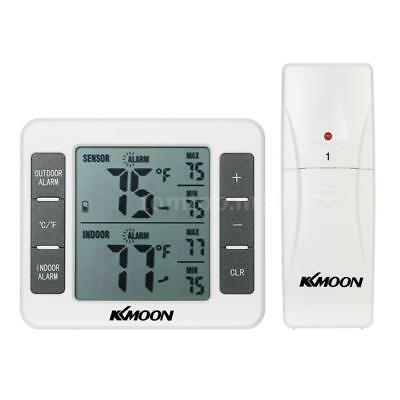 KKmoon LCD Digital Thermometer Temp Meter with 1 Wireless Outdoor Transmitter