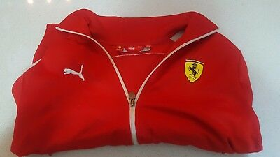 Official Ferrari Red Sport Jacket Size M  (F1, Motorsports)