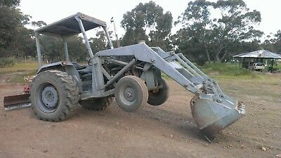 MF50A Tractor- Front End Loader