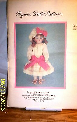 """Pattern G115 By 309 Byron Doll """"LAURIE"""""""