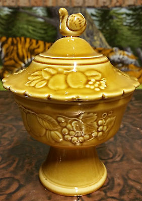 Vintage Stunning Royal Worcester Crownware Apothecary Lolly Jar